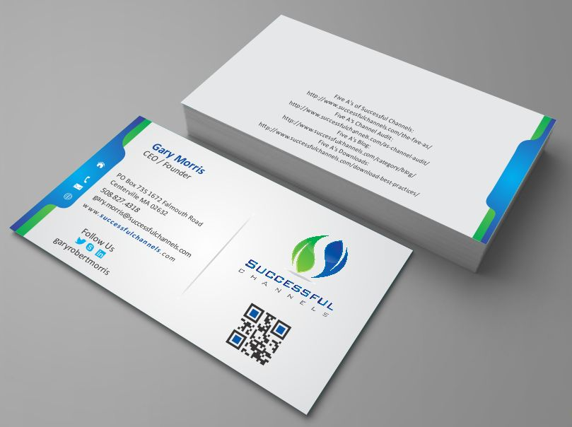 Serious Modern Advertising Business Card Design For A Company By