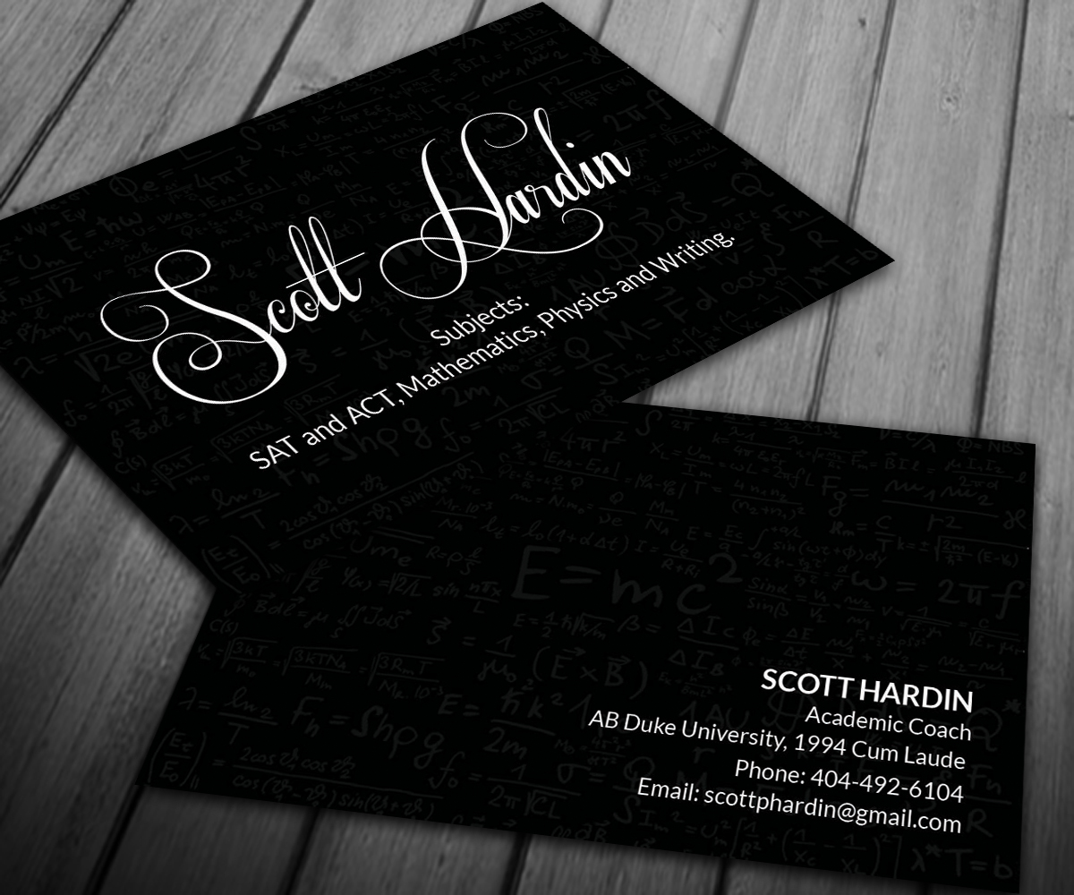 Business Business Card Design for Scott Hardin by Smart Designs ...