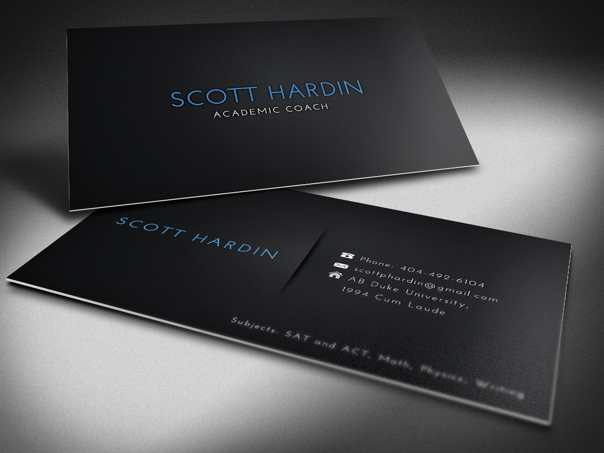 Business Business Card Design for Scott Hardin by FutureDesigne ...