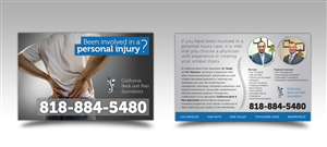 Flyer Design by ProGravix - Personal Injury Flyer for Medical Office