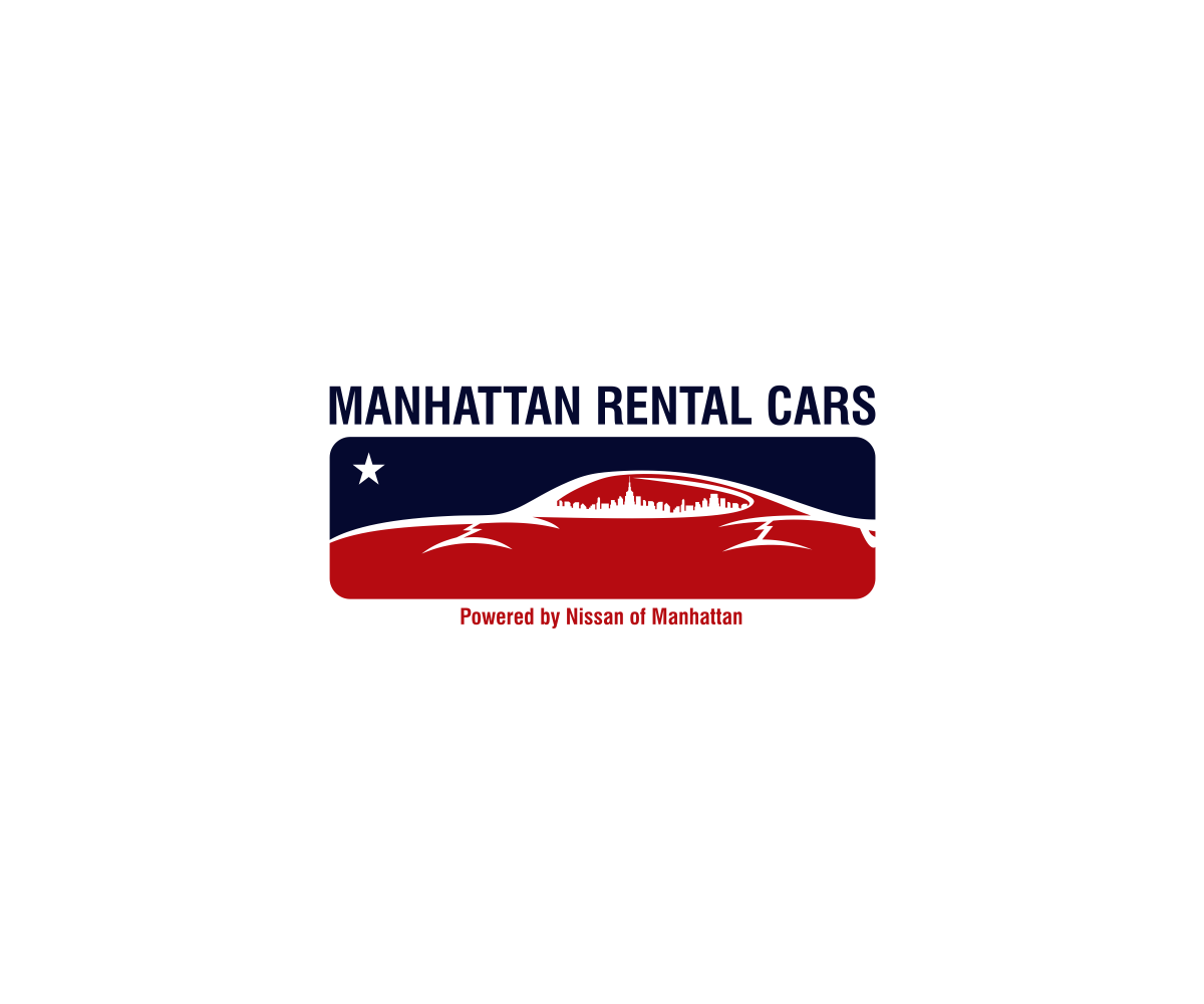 Graphic Design Logo Design For Manhattan Rental Cars