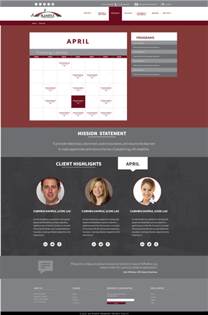 Web Design by Ted - Sample Supports