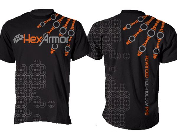 Serious masculine industrial t shirt design for a for Industrial design t shirt