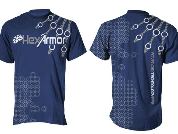S rieux masculin industrial design de t shirt for a for Industrial design t shirt