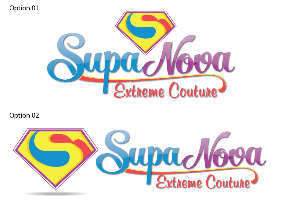 Logo Design for SupaNovaExtremeBoutique by Ushan sampath ...