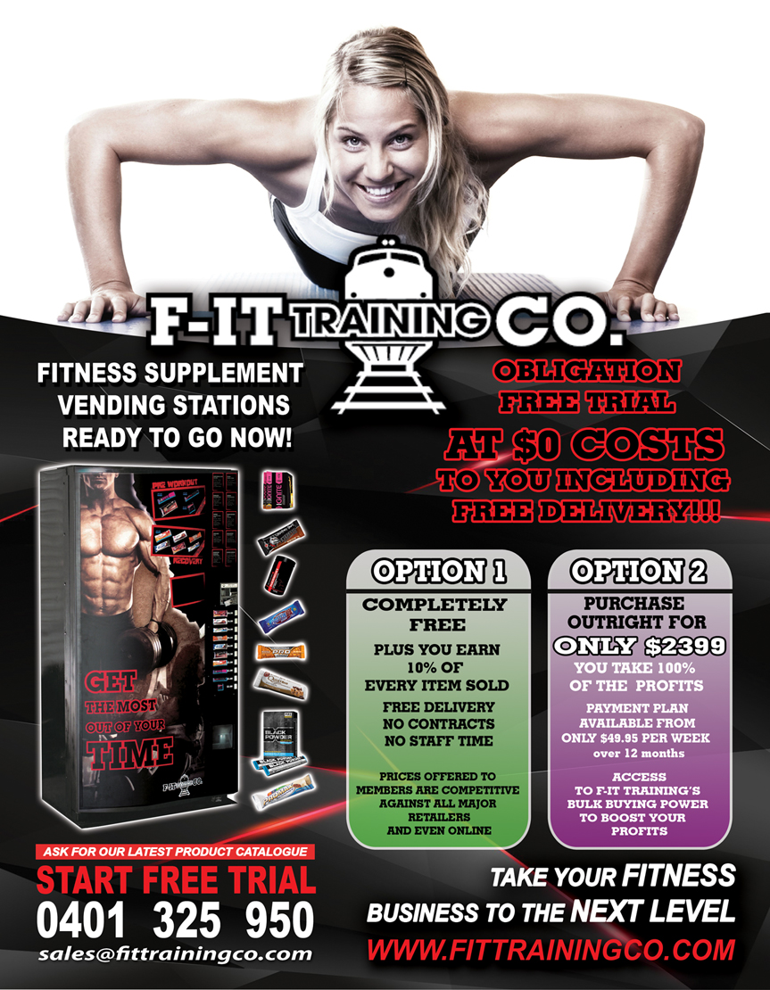 Fitness Flyer Design For F IT SOLUTIONS In Australia