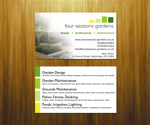 Business Card Design by L.A. - Business Card Design