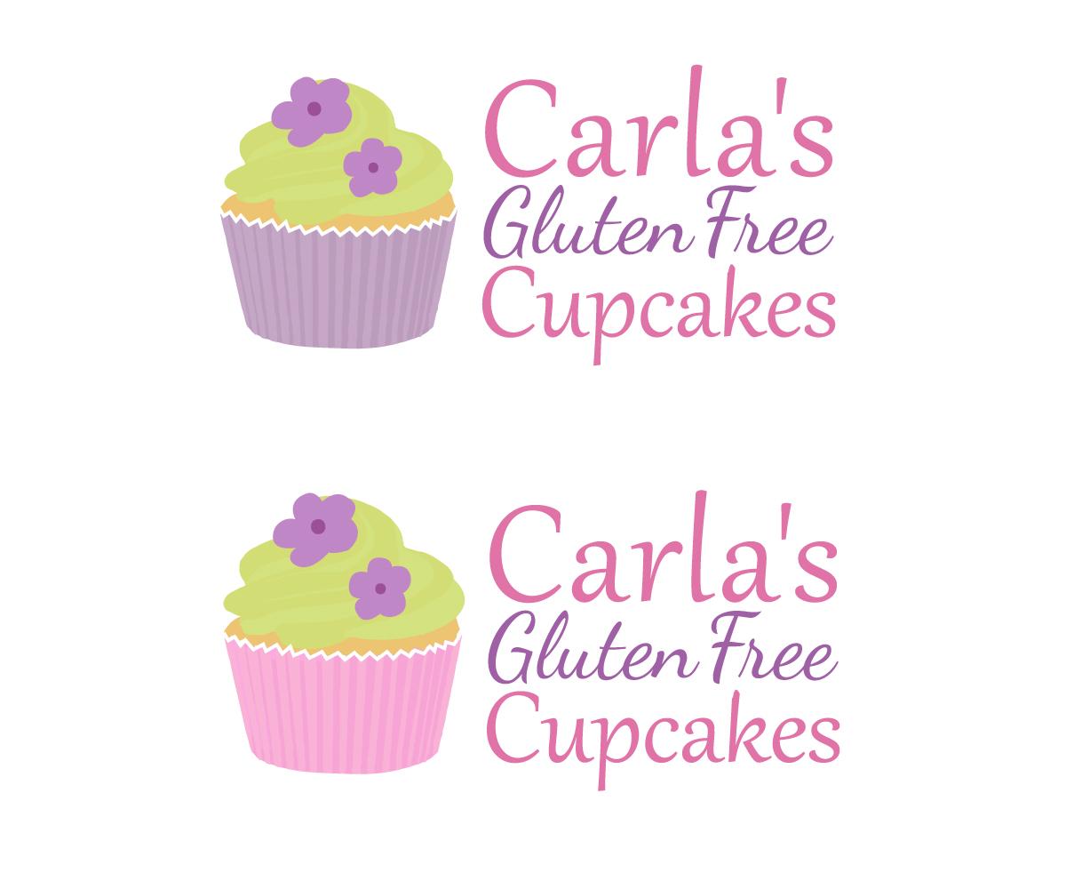 Design De Logo Business Pour Carla S Gluten Free Cupcakes Par Molly