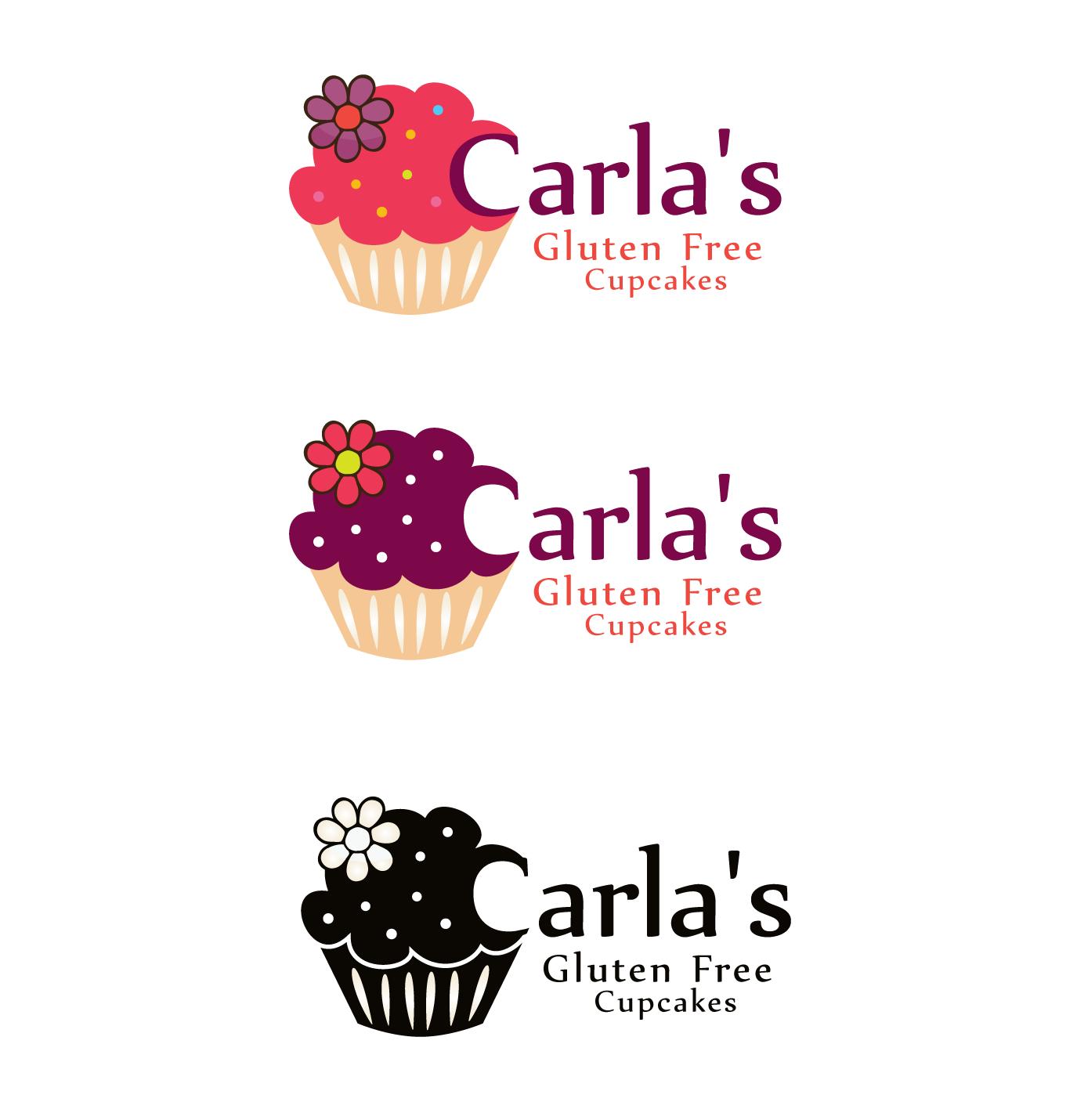 Business Logo Design Fur Carla S Gluten Free Cupcakes Von Dan86