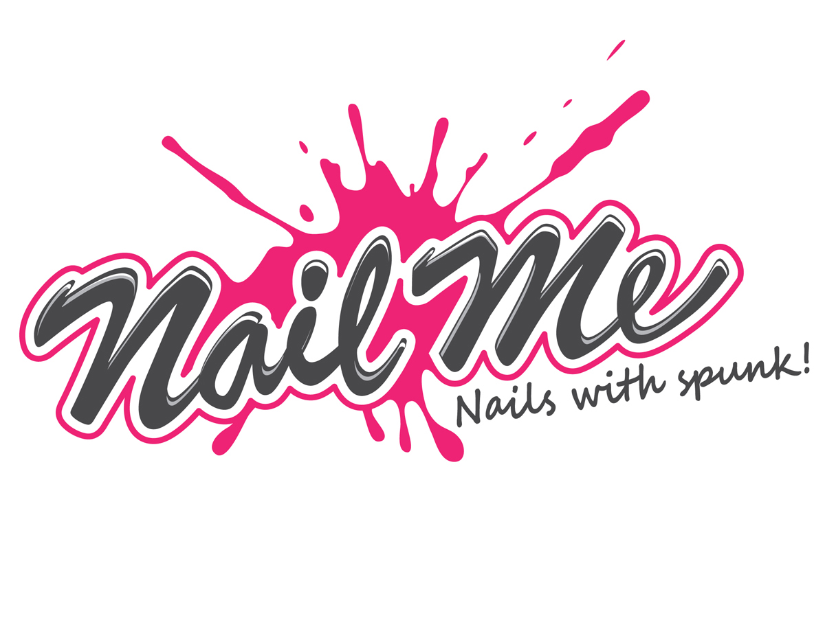 Playful, Colorful, Salon Logo Design for Nail Me by LadyKrab ...
