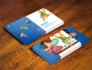Childcare business card designs 5 childcare business cards to browse childrens business card design project business card design by nuhanenterprise colourmoves