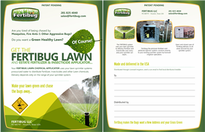 Brochure Design by Theziners - Fertibug Brochure