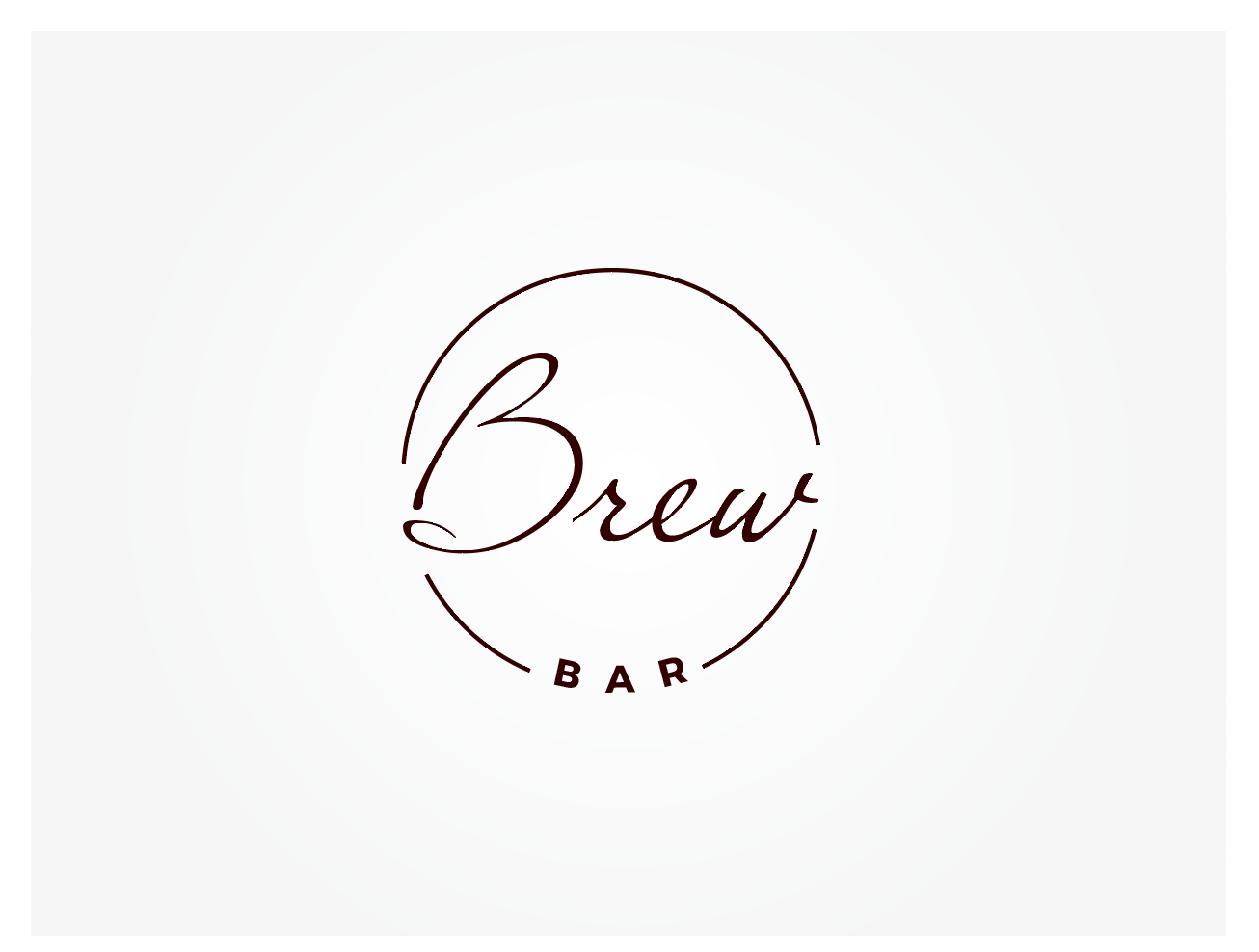 Elegant Playful Cafe Logo Design For Brew In Australia