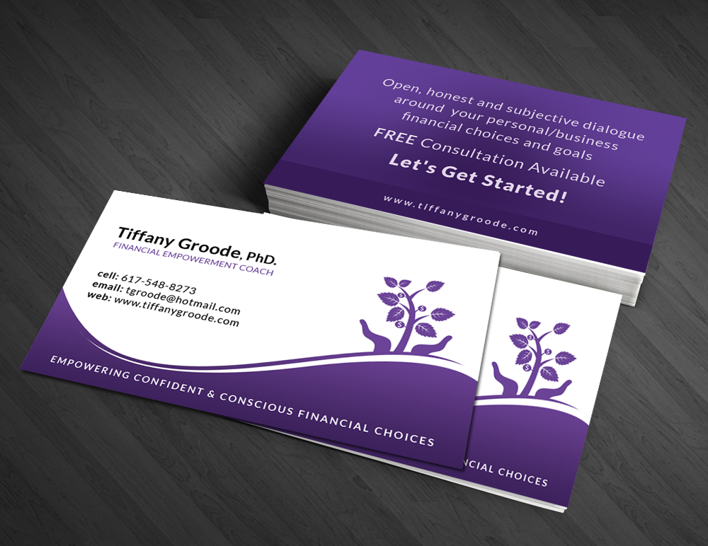 Financial Business Card Design for a Company by Artman | Design #3545507