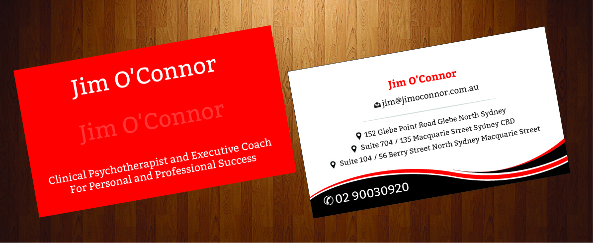 Playful, Modern Business Card Design for James N O\'Connor by ...