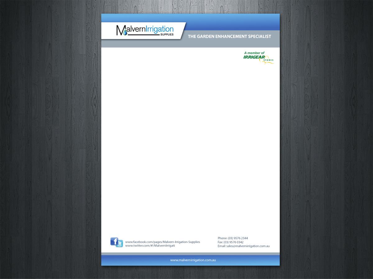 Modern Professional Letterhead Design For Malvern