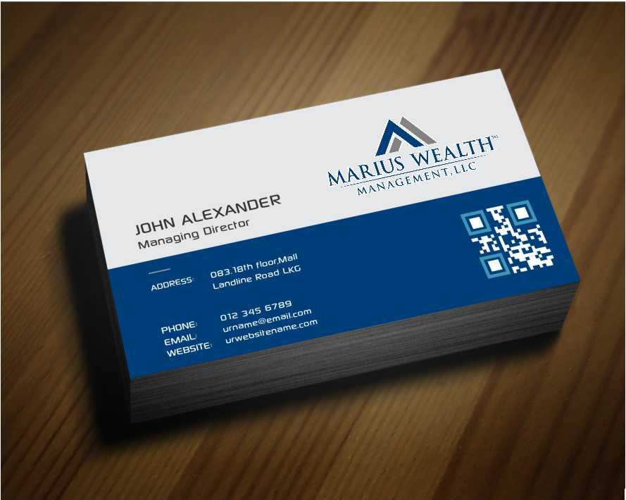 Investment business card design for marius wealth management llc by business card design by awsomed for marius wealth management llc design 3555373 colourmoves