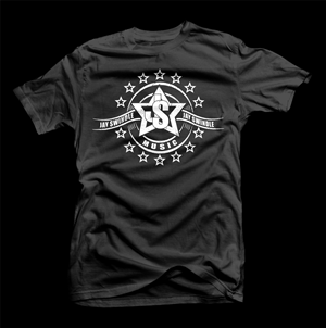 Black T-shirt Design Galleries for Inspiration