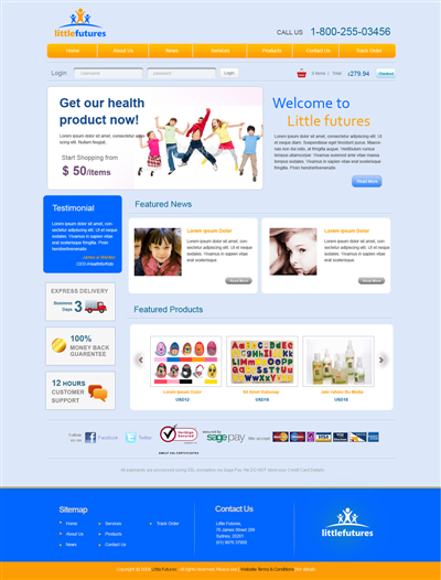 Hostel Website Design 97328