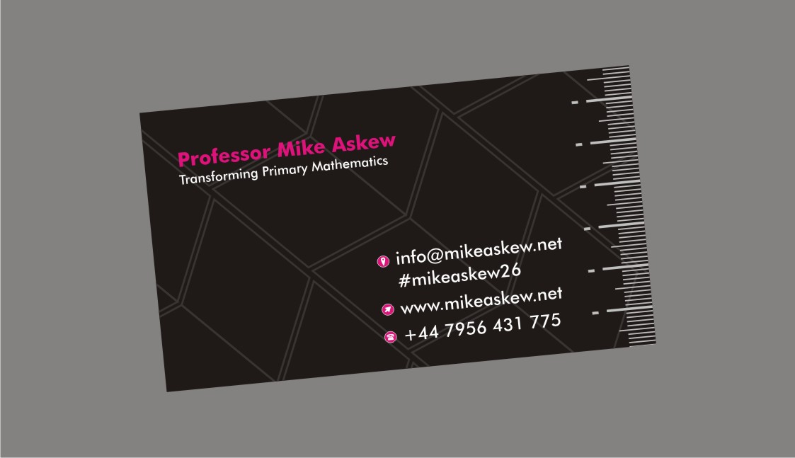 Teacher Business Card Design for Professor Mike Askew by yadavsushil ...
