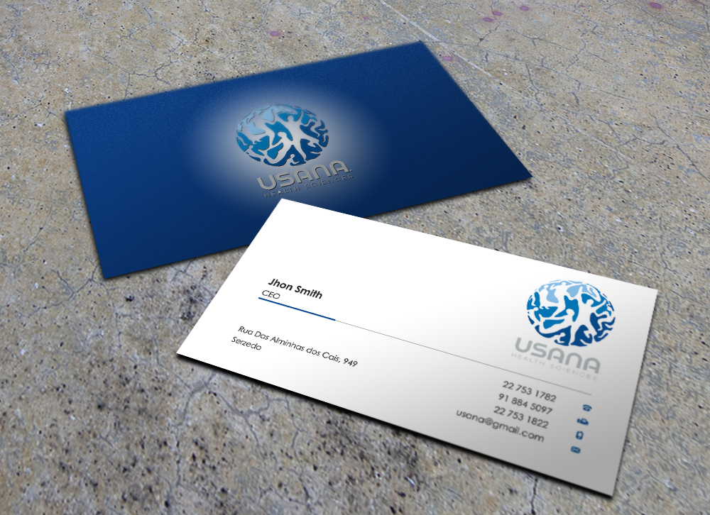 Bold Modern Business Business Card Design For A Company By Eggo