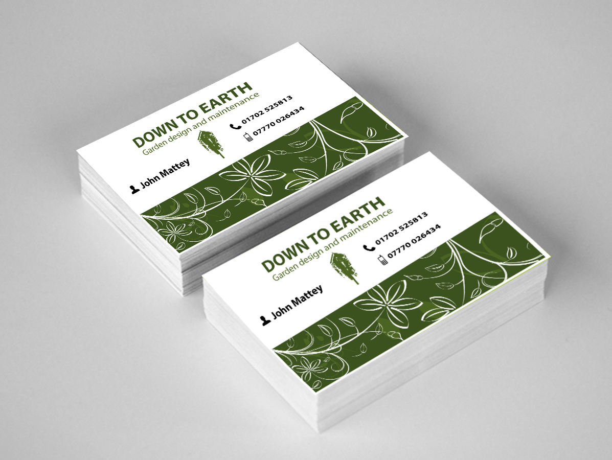 business card design by dd for garden design business card design design 3539647 - Garden Design Business Cards