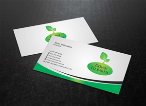 business card design design 3528081 submitted to garden design business card design