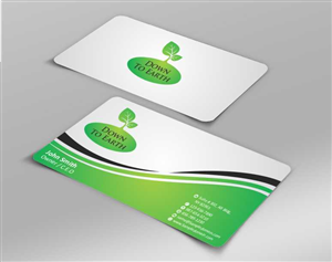 business card design design 3528096 submitted to garden design business card design