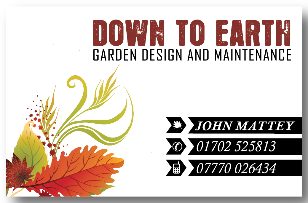 business card design by mindscape for garden design business card design design 3585310 - Garden Design Business Cards