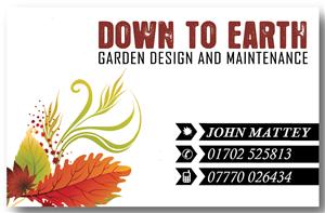 business card design by mindscape - Garden Design Business Cards