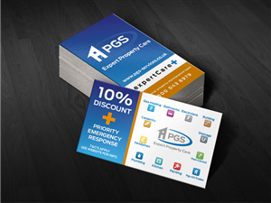 business card design by mt for pgs services ltd design 3593828 - Discount Business Cards
