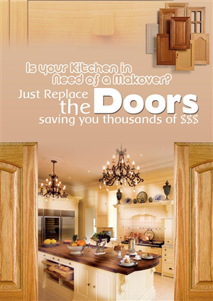 Kitchen Flyer Design 890185