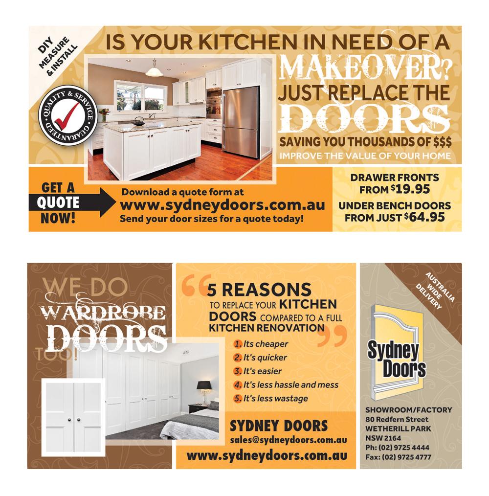 26 elegant flyer designs it company flyer design project for Kitchen design jobs sydney