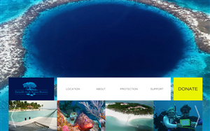 Web Design by  SerbanC - Turneffe Atoll Marine Reserve - new responsive ...