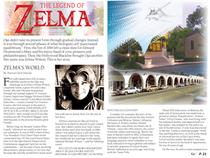 Magazine Design by venuslp - The Legend of Zelma