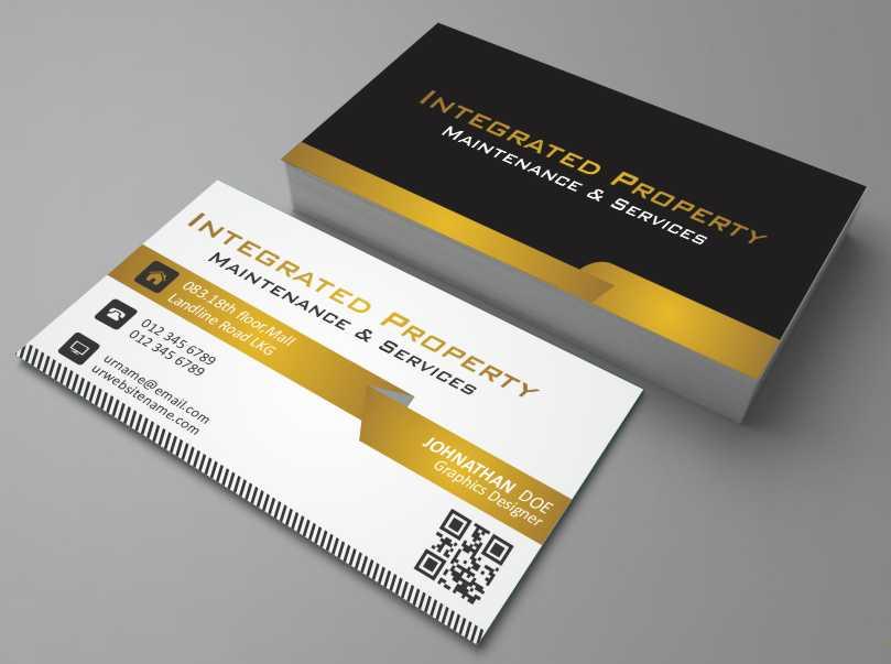 Professional, Elegant, House Business Card Design for Intergrated ...