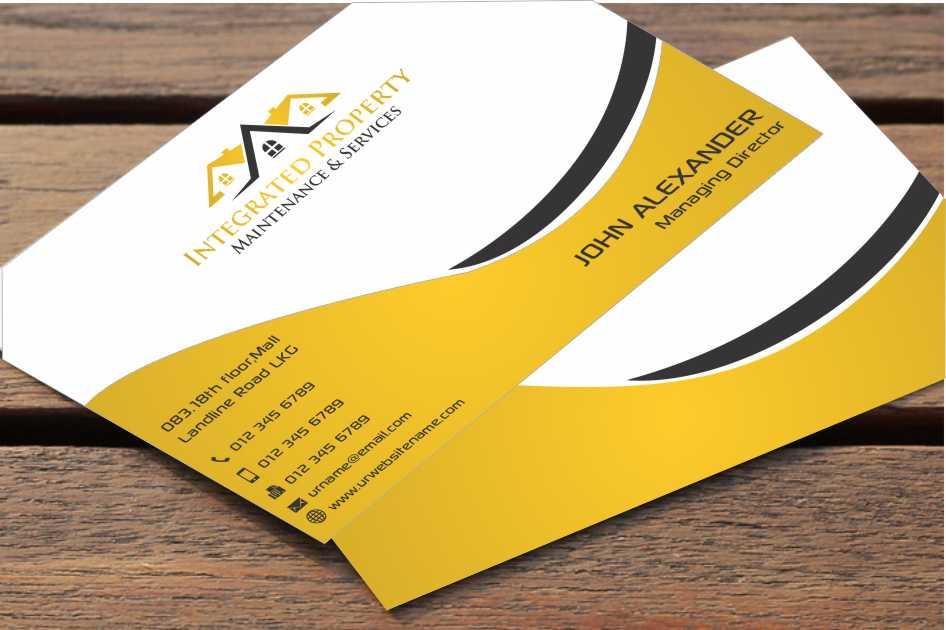 Professional, Elegant Business Card Design for Intergrated ...