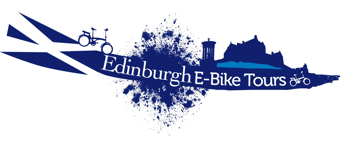 Edinburgh Electric bicycle city tours company logo by PND