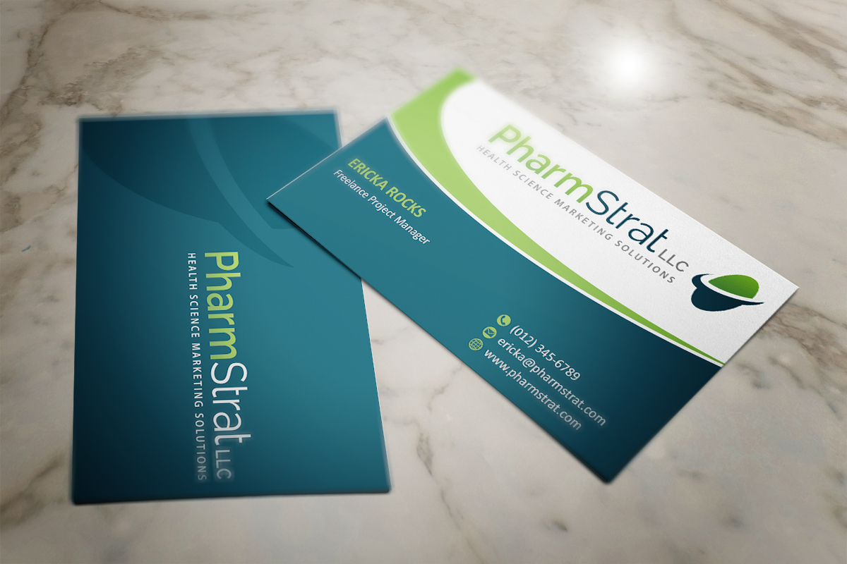 Pharmaceutical Business Card Design Galleries for Inspiration