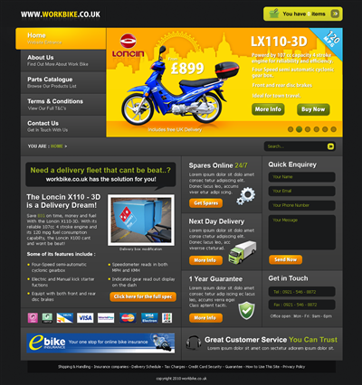 Online Web Design Bid Photoshop 100029