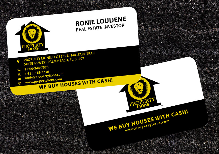Charming We Buy Houses Business Cards Contemporary - Business Card ...