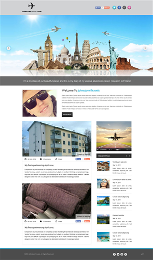 Web Design by pb - Small dedicated blog website