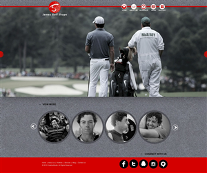 Web Design by Dhruv Thakkar - Golf sponsorship website and logo