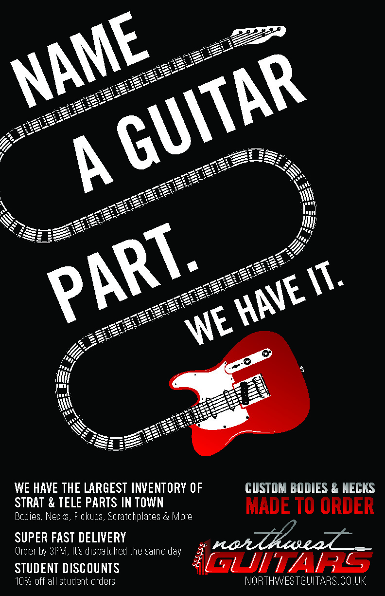 Parts of a poster design - Poster Design By Mike Zuniga For Promo Poster For Guitar Parts Website May Need Photoshop