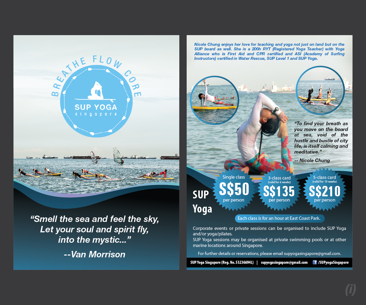 Flyer Design design for Nicole Chung, a company in Singapore