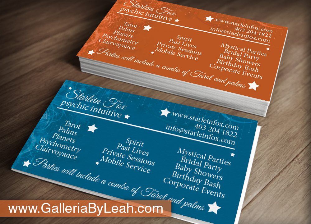 Business Business Card Design for Guided by the Stars by galleria.by ...