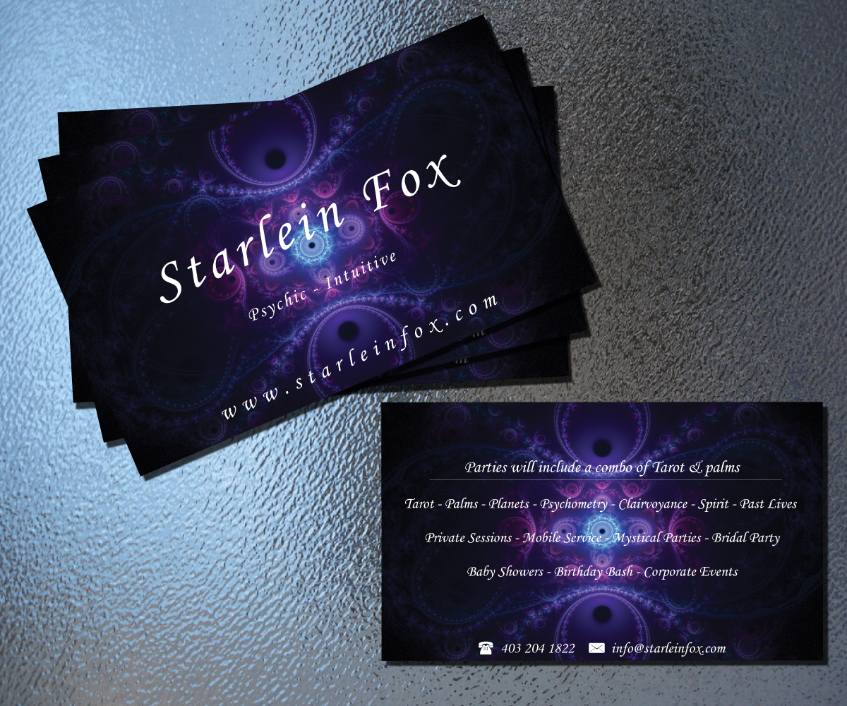 Business Card Design for Guided by the Stars by Hadi Graphics ...