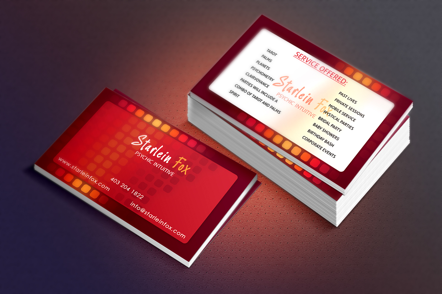 Business Business Card Design for Guided by the Stars by Dingft ...