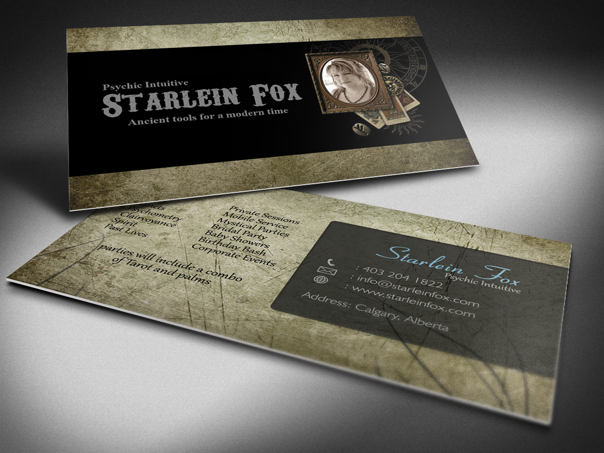 Business Business Card Design for Guided by the Stars by ...