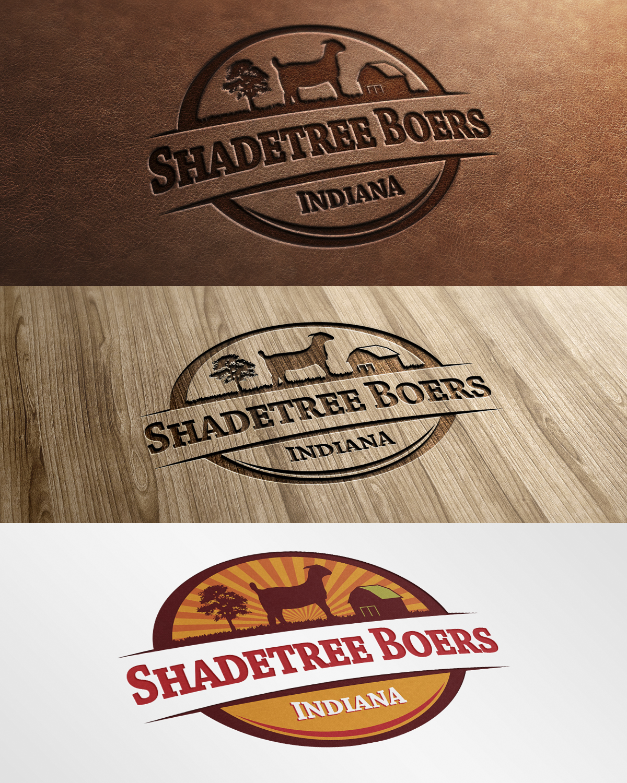 Modern, Masculine, Farm Logo Design For Shadetree Boers By